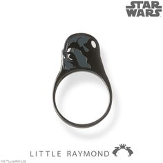 Super Cute 'Star Wars' Double-Sided Flat Rings