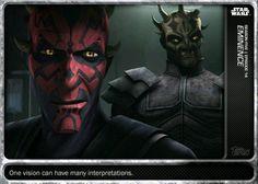 Topps Star Wars Card Trader The Clone Wars Morals Eminence Base Digital Card