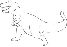 Lesothosaurus Dinosaur Coloring Pages For Kids Printable