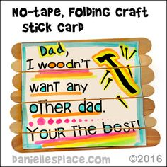 Father's Day Crafts Kids Can Make