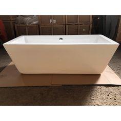 Cada freestanding, cu montaj pe pardoseala, de la producatorul Super Spa, model Q-165, disponibila cu dimensiuni de 175x76 cm, fabricata din acril, culoare alb. Bathtub, Bathroom, Model, Standing Bath, Washroom, Bathtubs, Bath Tube, Full Bath