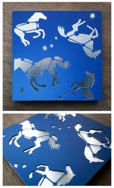 Paper cut illustration by Julene Harrison | B&A Reps