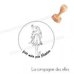 Tampon fait main https://www.la-compagnie-des-elfes.fr/
