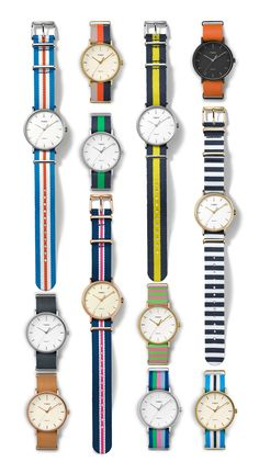 A modern take on our award-winning Weekender® collection. The minimalist dial design and clean lines pair perfectly with our signature interchangeable straps to complement everything in your closet. You just found the only watch you'll ever need.