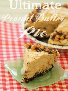 Ultimate Peanut Butter Pie