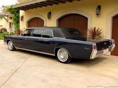 1968 Lincoln Continental Lehmann Peterson Limousine ════════════ ❄❄ Alittlemarket ☞ https://www.alittlemarket.com/boutique/au_royaume_du_timbre-3130013.html