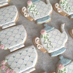 bridal shower @bellasucrecookies