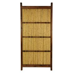 Oriental Furniture Japanese Bamboo Kumo Fence