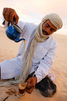 Tea in the Sahara - Douz, Tunisia