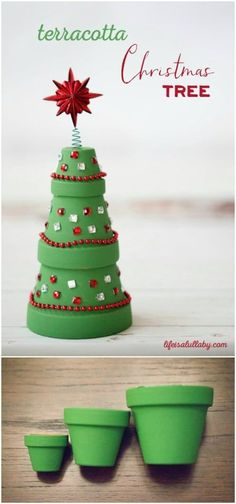Don't you just love Christmas crafts? There is just something so fun about making decorations for the holidays. I always try to do a few different DIY Christmas decorations every year so that means that Christmas Crafts For Kids, Homemade Christmas, Diy Christmas Gifts, Christmas Projects, Holiday Crafts, Christmas Holidays, Christmas Decorations, Christmas Ornaments, Christmas Clay