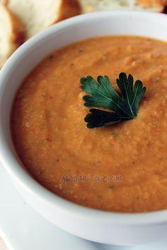 hummus-con-pimentón-rojo
