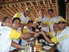 Equipe do Volei de Piscina/Biribol
