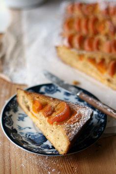Amandel abrikozencake (zonder suiker, gluten en zuivel) | Yellow lemon tree