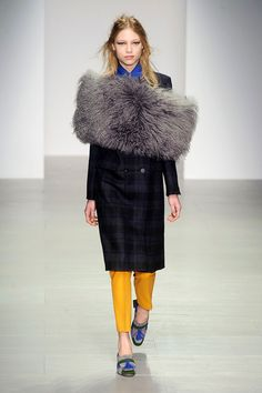 Eudon Choi Fall 2014 Ready-to-Wear Collection