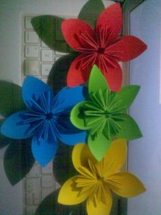 beautiful origami flowers for decoration and events!!!