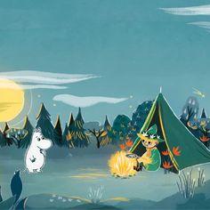 Les Moomins, Adventure Time Girls, Moomin Valley, Tove Jansson, Winter Magic, Vintage Cartoon, Funny Cartoons, Book Illustration, Cute Art