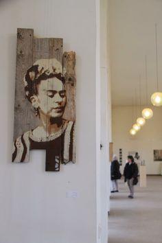 "Frida kahlo - Ausstellung ""3 Gang menu"" ( ballhaus nordpark duesseldorf 2014) by luetze"