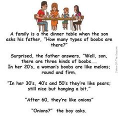 A boy asks his dad about boobs - Funny story