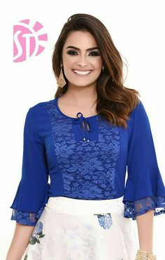 Girls Fashion Clothes, Girl Fashion, Fashion Dresses, Blouse Styles, Blouse Designs, Indian Fashion Trends, Blouse Dress, Fashion Sewing, Beautiful Outfits