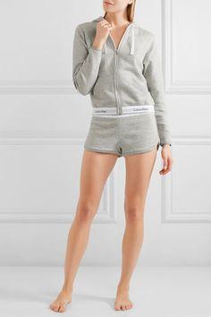 Calvin Klein Underwear - Modern Cotton-blend Jersey Shorts - Gray -