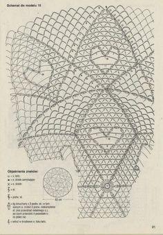 serwetka - szydełko /// Crochet: tablecloth
