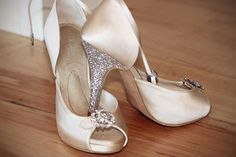 Bride Stacey Masters. These are my Angela Nuran Starletta custom shoes purchased from The Left Bank in Chicago. They were so comfortable.     @AngelaNuranContest1