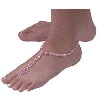 Be cool on hot days at the beach or around the pool! This pretty Caribbean Foot Jewelry will be all the rage and a popular craft for teens.