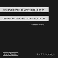 Killing time is not murder, it's suicide. Darwin Theory, Charles Darwin, Meaning Of Life, App Development, Life Goals, Entrepreneurship, Work Hard, Philosophy, Digital Marketing