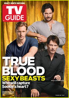 'True Blood' Guys Cover 'TV Guide'