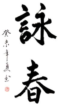 This Wing Chun Calligraphy is one of many samples of finished calligraphy we have available. Our calligraphy was created exclusively for WLE by Master Zhang Gao-Sheng of Beijing. Wing Chun Ip Man, Bruce Lee Wing Chun, Wing Chun Martial Arts, Bruce Lee Martial Arts, Chinese Character Tattoos, Chinese Characters, Kung Fu, Wing Chun Wooden Dummy, Rune Symbols