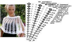 17 couches de motifs ponchos Mananitas - GanchilloGanchillo