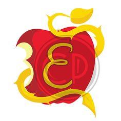 Descendants Apple Letter E