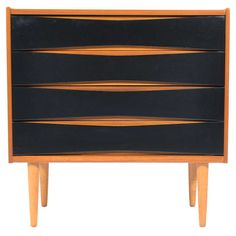Teak Chest by Arne Vodder | From a unique collection of antique and modern commodes and chests of drawers at http://www.1stdibs.com/furniture/storage-case-pieces/commodes-chests-of-drawers/