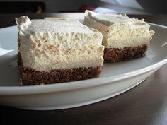 Gaštanový zákusok so šľahačkou Vanilla Cake, Tiramisu, Cheesecake, Food And Drink, Treats, Baking, Desserts, Recipes, Cakes
