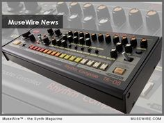 """For Roland Corp. unveiled a new iteration of its classic drum box – the Rhythm Composer – called the Rhythm Composer as part of its ongoing """"Boutique Series"""" line-up. Additionally, a new analog synth recreation of the and a portable """"Linear Wave Sampler. Roland Tr 808, Analog Circuits, Analog Synth, Technology Magazines, Old School House, Usb, Drum Machine, Sound Of Music, User Interface"""