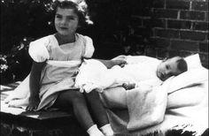 In 1933 Jackie's sister Caroline (Lee) was born.
