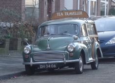 1962 Morris Minor 1000 Traveller---my first car was a Morris Minor convertible....