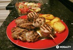 Görög grill hús recept