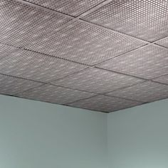 Fasade Square Crosshatch Silver 2-foot Square Lay-in Ceiling Tile | Overstock.com Shopping - The Best Deals on Ceiling Tiles