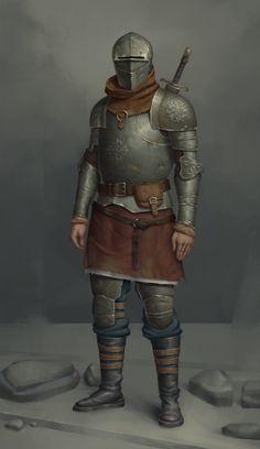 nameless knight me digital 2019 Fantasy Male, Fantasy Armor, Medieval Fantasy, Dark Fantasy, Dnd Characters, Fantasy Characters, Character Concept, Character Art, Best Armor