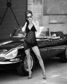 """One for the E type fans. Sexy Cars, Hot Cars, Jaguar Type E, Jaguar Cars, Jaguar Xj, Mode Pin Up, Chef D Oeuvre, Girls In Love, Pretty Girls"