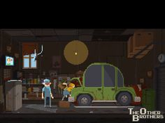 [Animated] The Other Brothers Garage
