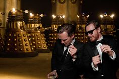 """What was the stand-out moment of this year's Golden Globes celebrations? Not J-Law's latest photo-bombing antics. Not Emma Thompson's shoeless presenting. No, not even Tina Fey and Amy Poehler's hilarious hosting. It was Benedict Cumberbatch and Michael Fassbender representing Britain and Ireland on the dancefloor (by the way, our spies inform us that they were gettin' down to Notorious B.I.G.'s """"Mo Money Mo Problems."""") We were so proud.   But what happened next?  They went on a dancing tour…"""