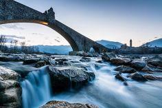 Ponte Gobbo a Bobbio - Instagram by ggldr81