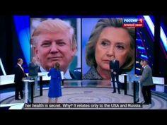 Hillary Clinton sick - Russian live broadcast discusses Clinton illness Parkinson's - YouTube