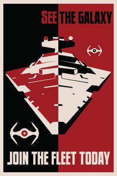 See the wonders of our galaxy and protect it from traitors! Join the Imperial Fleet! Sign up at your local Enlistment Center.