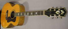 1985 Guild F44 Mini-Jumbo Natural Maple Acoustic Guitar | Reverb