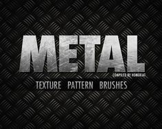 30+ High Quality Metallic Texture, Pattern, Brushes And Photoshop Tutorials