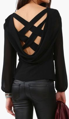 XX | cross back top we LOVE this @madisonavenuecloseouts.com
