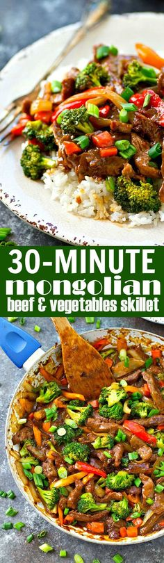 Flavorful Mongolian